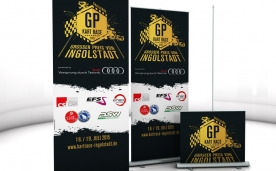 GP-Kartrace . Roll-Up 85x220 cm